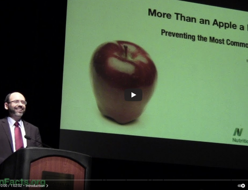 Preventing Our Most Common Diseases, Not Just an Apple a Day! by Dr. Michael Greger