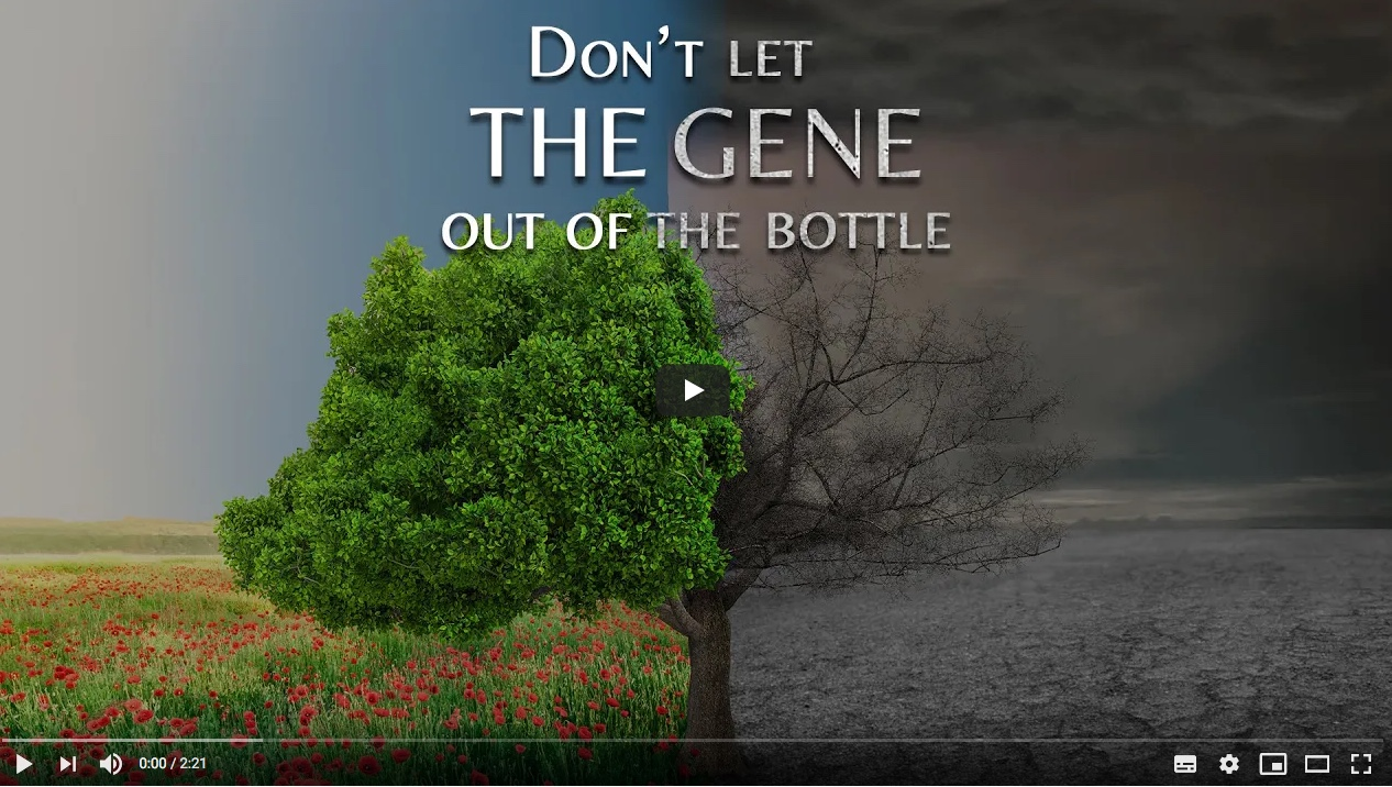 Don't Let The Gene Out of The Bottle